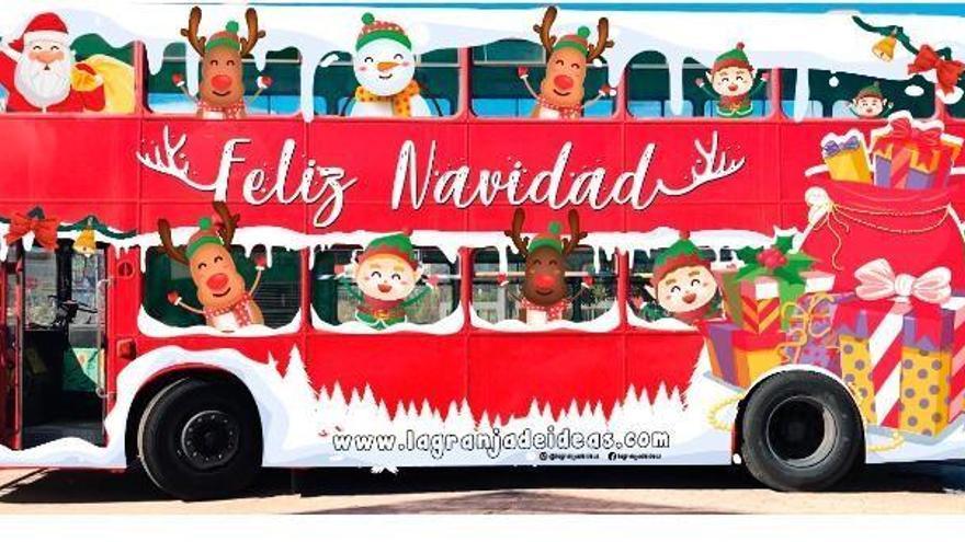 Papá Noel se acercará a los barrios de Santa Cruz gracias a 'La Guagua Navideña' by