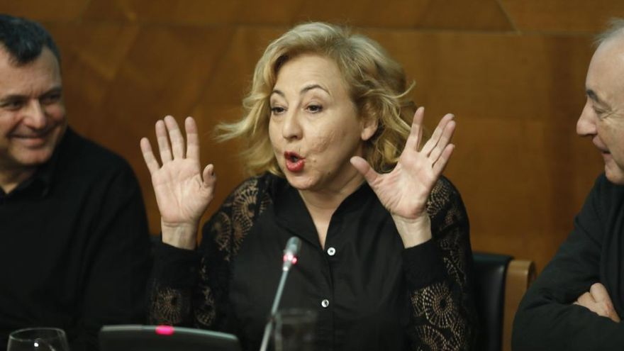 Carmen Machi, condenada a pagar 83.000 euros por una infracción tributaria