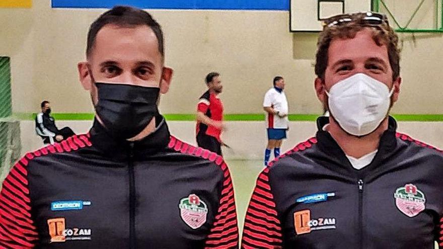 Aitor Llandres y Raúl López. | Cedida