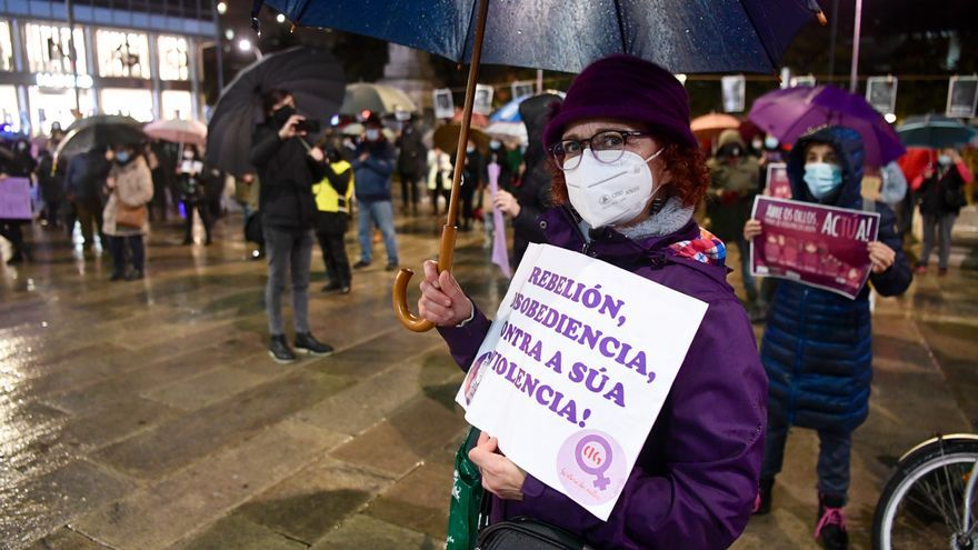 25-N: A Coruña grita basta
