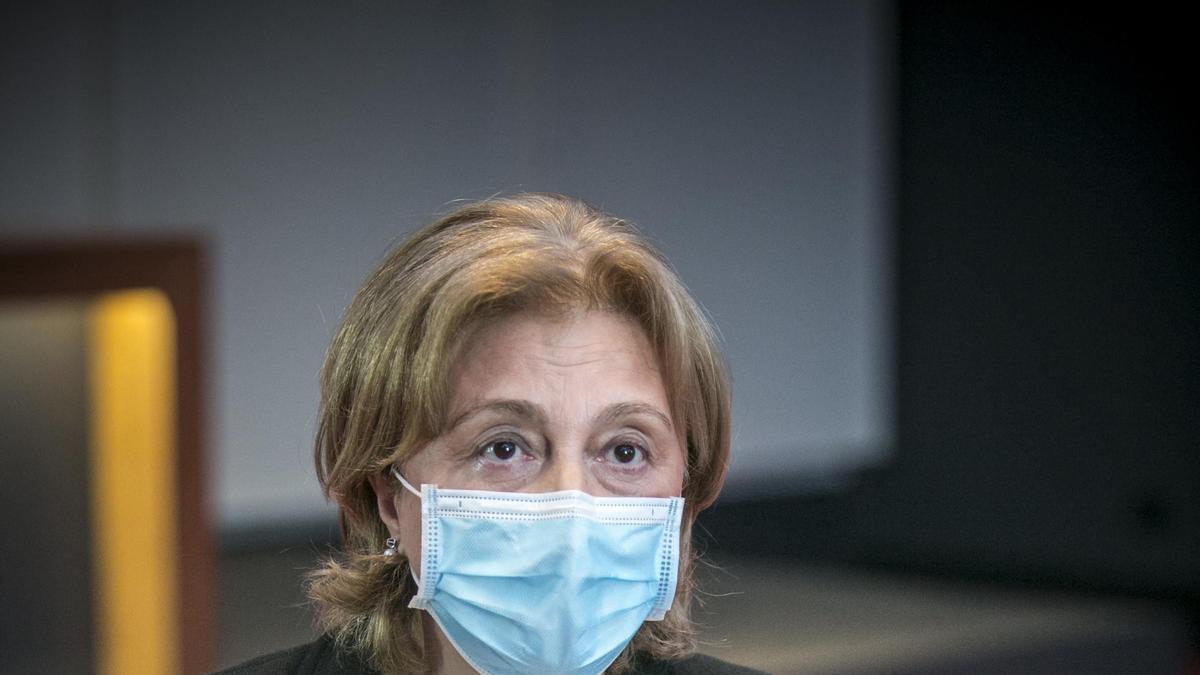 Delia Losa, delegada del Gobierno en Asturias.