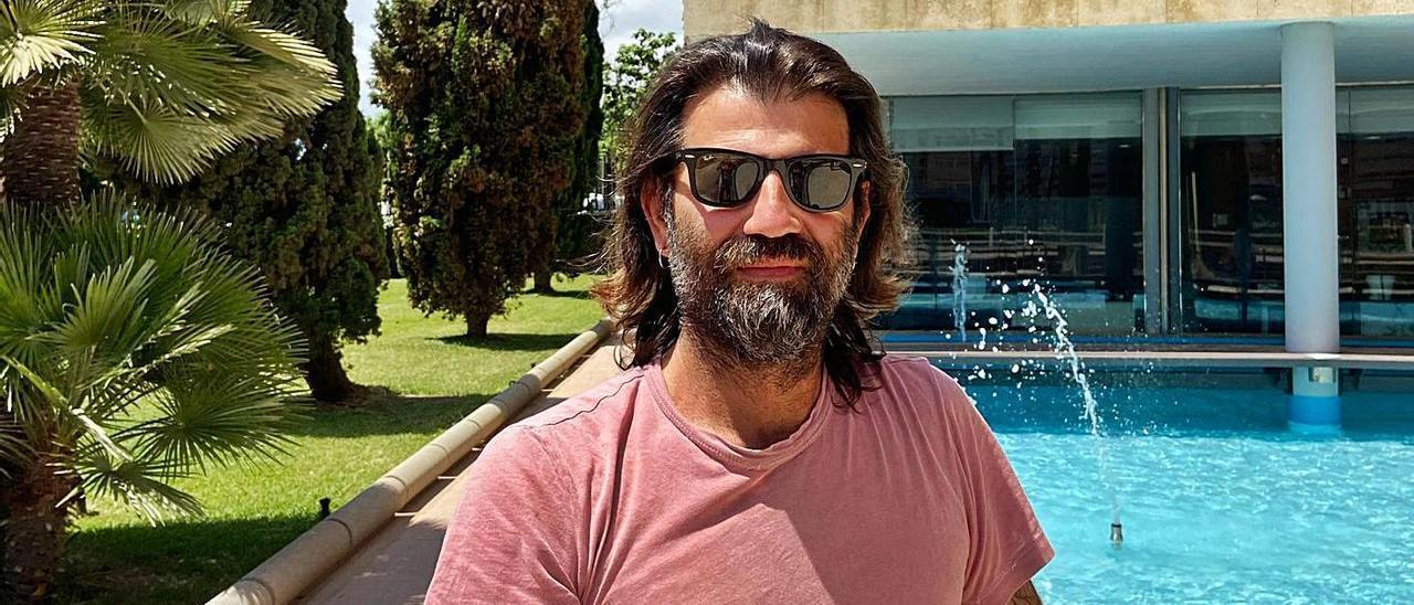 Antonello Cuomo, uno de los fundadores de ICA, en Diario de Ibiza.  | M.P.S
