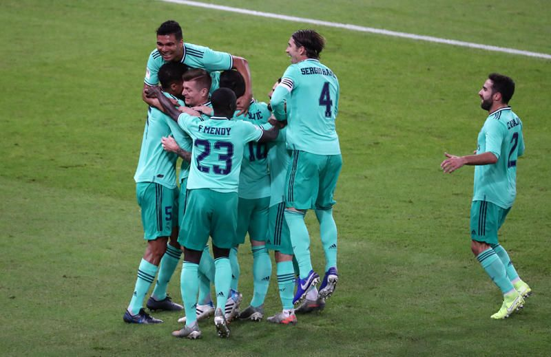 Supercopa: Valencia CF-Real Madrid