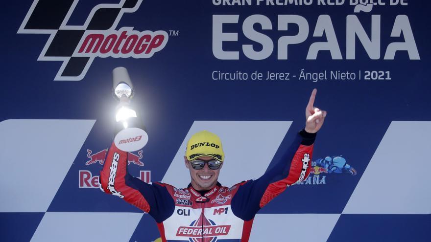 Di Giannantonio gana la carrera perfecta en el GP de España de Moto2