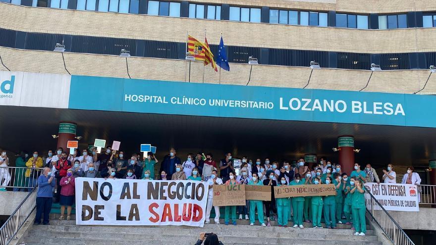 """Los sanitarios le gritan al Salud que """"no sobra nadie"""" ante la no renovación de contratos"""