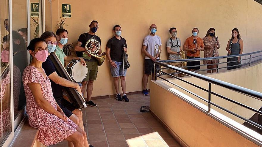 Concierto de profesores del Patronato de Música de Vila en Can Ventosa
