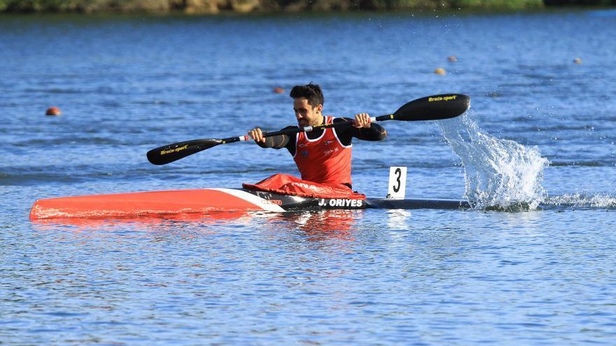 El maliayo Juan Oriyés obtiene la plaza K-1 500 metros cara al Europeo y también para el Mundial