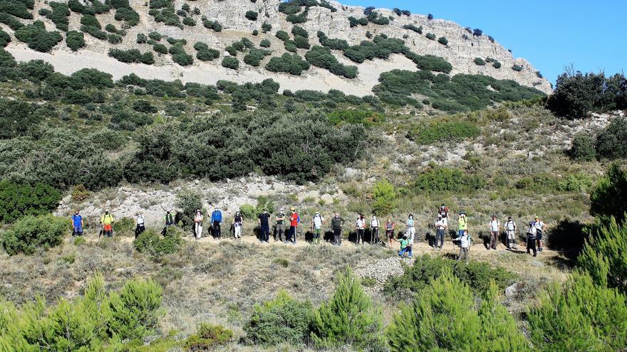 La Diputación difunde el patrimonio natural de la provincia con una nueva edición de su Programa de Senderismo