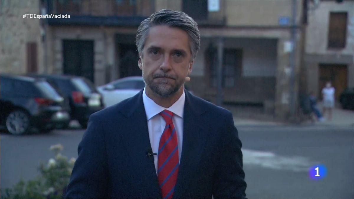 Carlos Franganillo, en el Telediario.