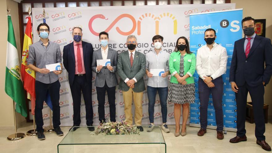 El Colegio de Médicos y el Banco Sabadell otorgan los premios a los mejores MIR de la UCO
