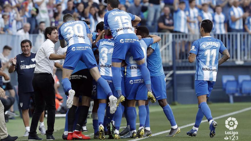 El Málaga del curso pasado habría ascendido de forma directa esta temporada