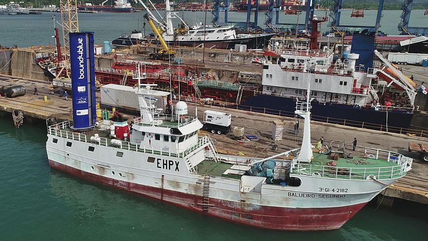 Un barco gallego de vanguardia mundial