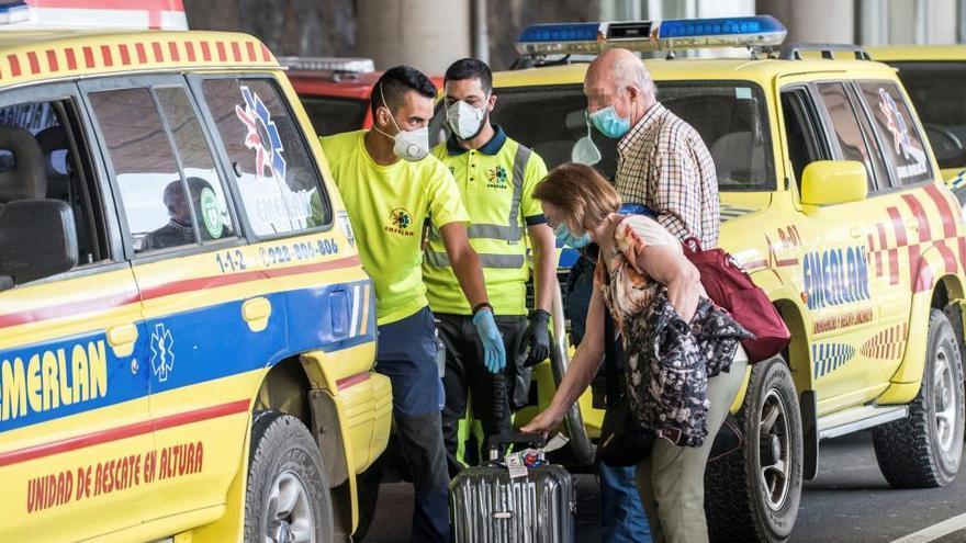 El pasajero del vuelo Madrid-Lanzarote da segundo positivo