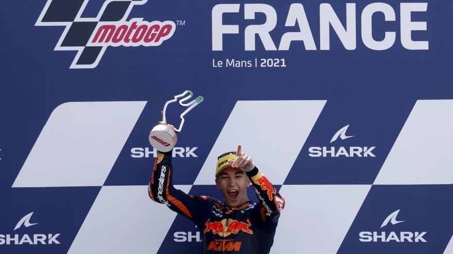 Raúl Fernández, sin rival en Moto2 en Le Mans
