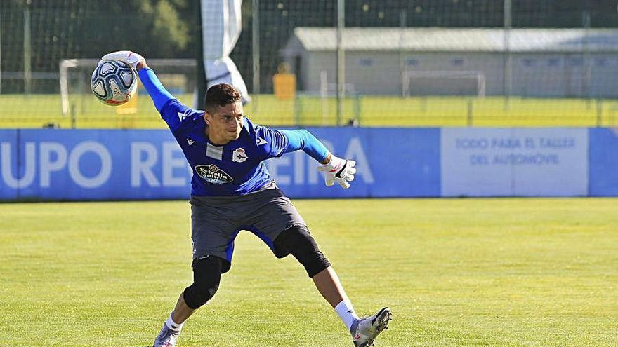 Lucho García y Borja Galán vuelven a entrenar con el resto de la plantilla