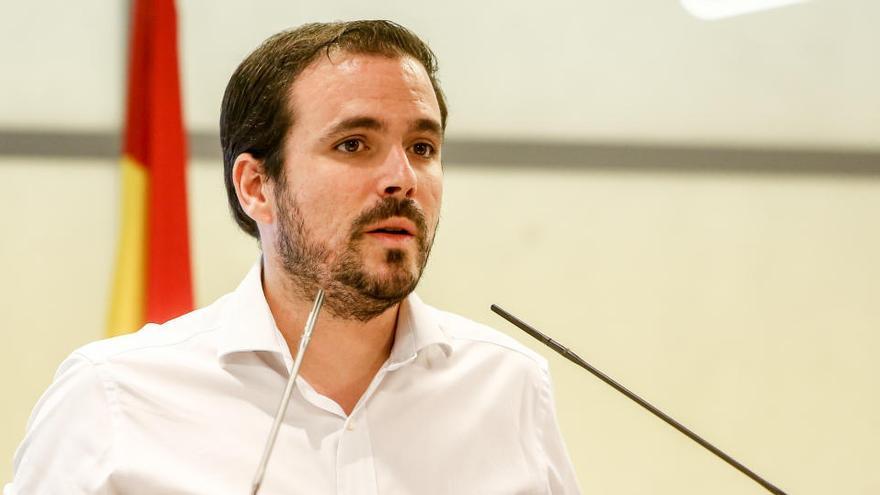 """Garzón defiende la integración de IU en Unidas Podemos por el """"asedio de la ultraderecha"""""""