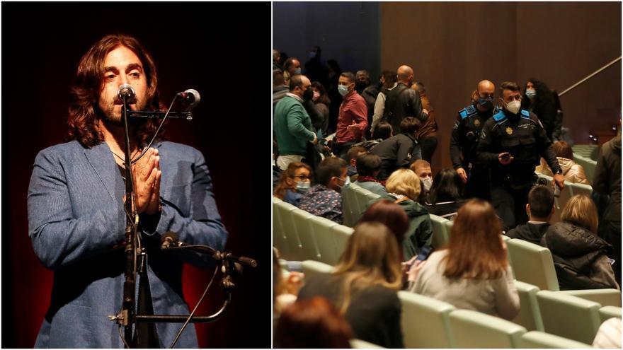 """El concierto de Andrés Suárez se suspendió por """"exceso de aforo"""""""