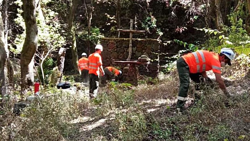 El Cabildo encarga acondicionar la red de senderos a la empresa Gesplan