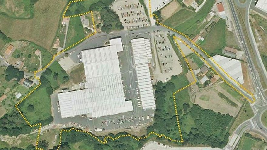 El grupo Caamaño prevé invertir 10 millones en la ampliación de su sede en Culleredo