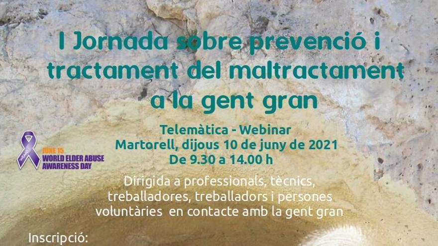 1a Jornada sobre prevenció i tractament del maltractament a la gent gran