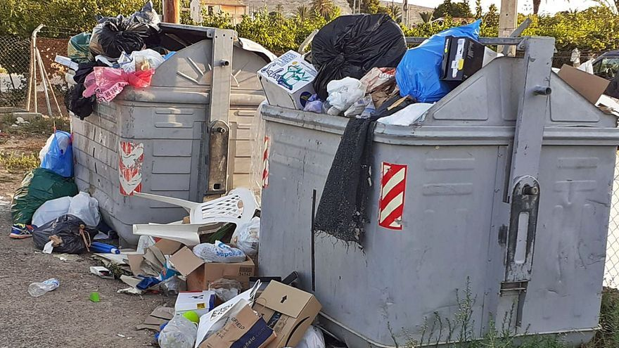 La nueva contrata de basuras de Elche pondrá fin a la falta de contenedores en las pedanías