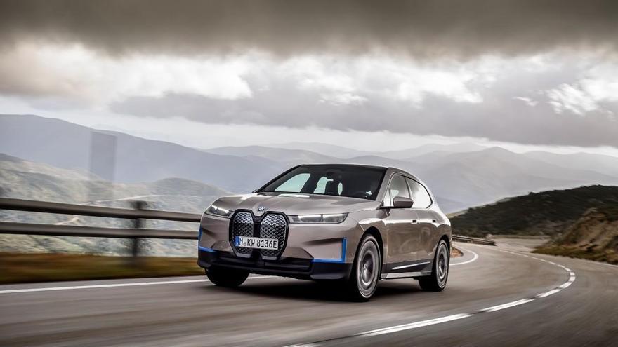 BMW iX, el futuro vehículo eléctrico de la marca alemana