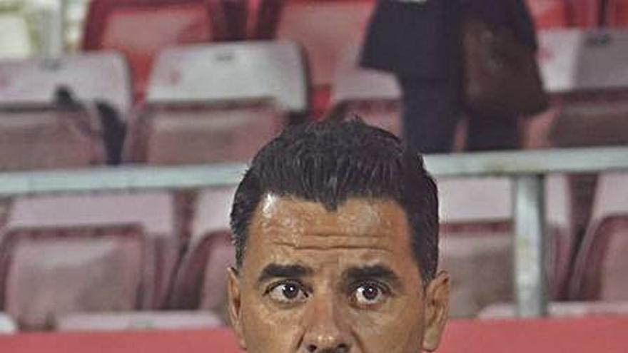 Míchel és sancionat amb dos partits per l'expulsió a Màlaga