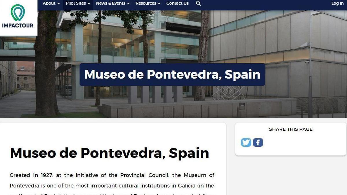 La imagen del museo en Impactour