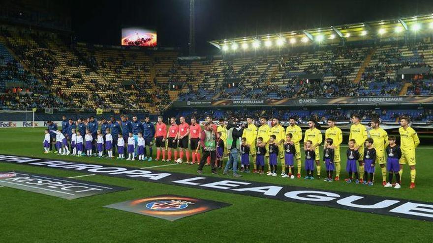El Villarreal-Olympique será finalmente a las 19.00 horas