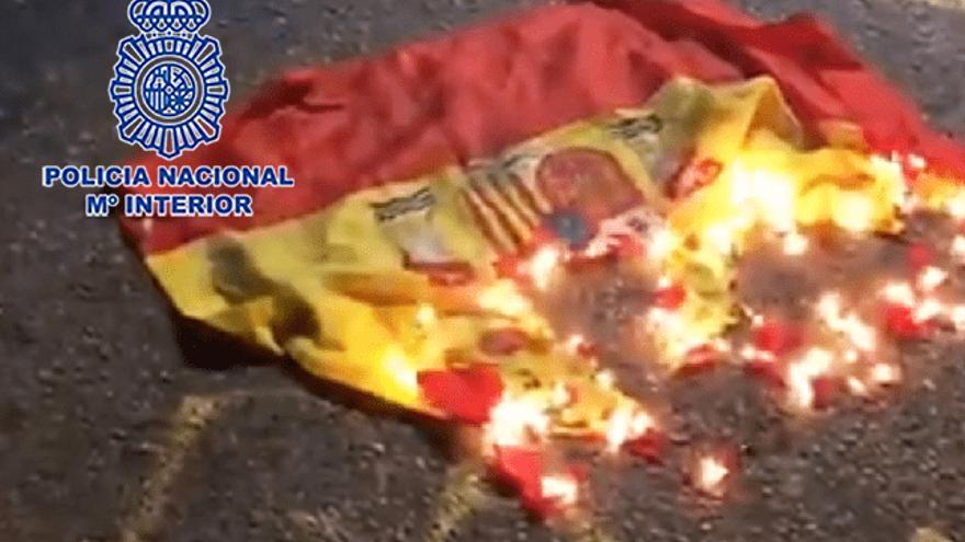 """La Policía detiene en Murcia a un joven por """"ultraje a España"""""""