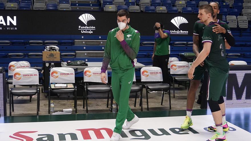 Las pruebas médicas descartan una lesión seria de Darío Brizuela