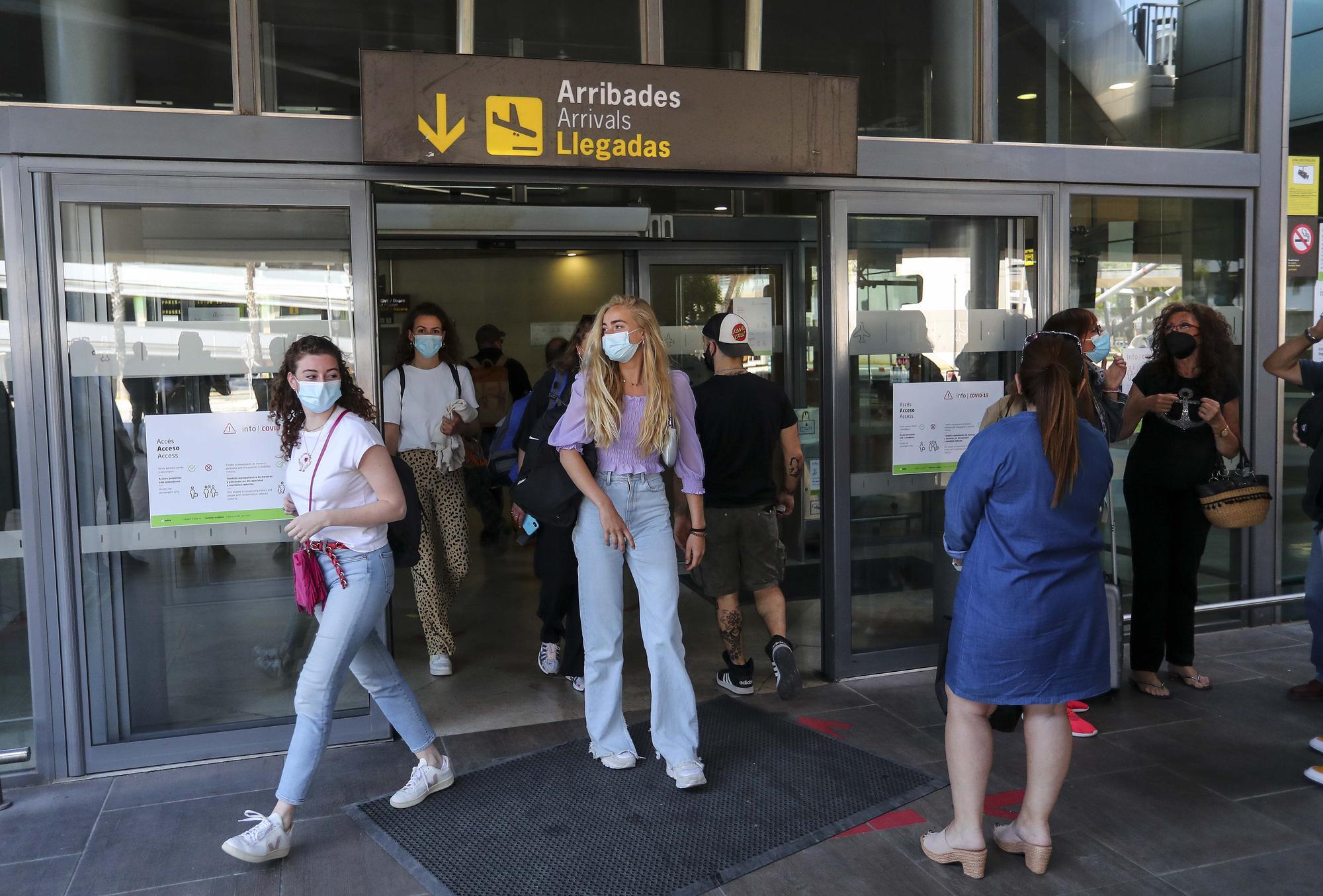 Así ha sido la llegada de los primeros turistas europeos sin necesidad de PCR