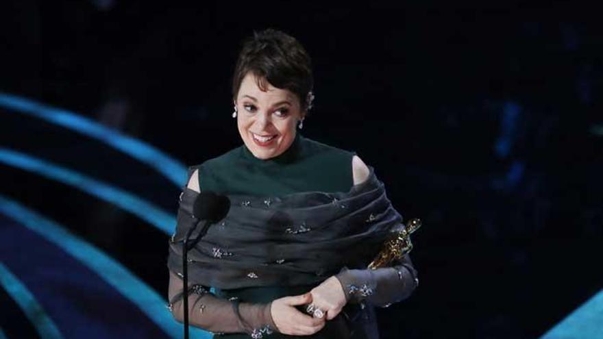 Olivia Colman, mejor actriz en los Oscars 2019
