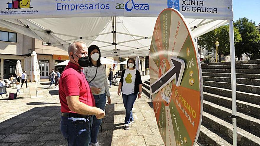 AED y CCA de Lalín ponen en marcha una campaña de dinamización junto al Pontiñas Centro Comercial