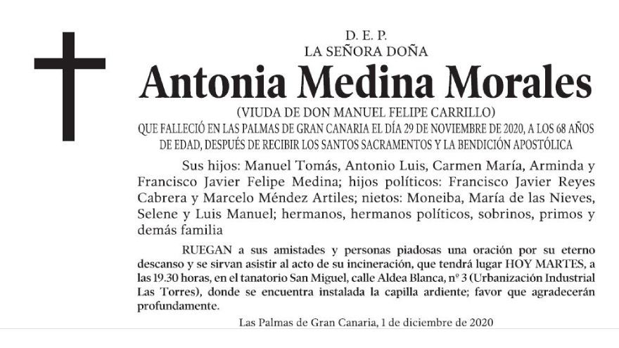 Antonia Medina Morales