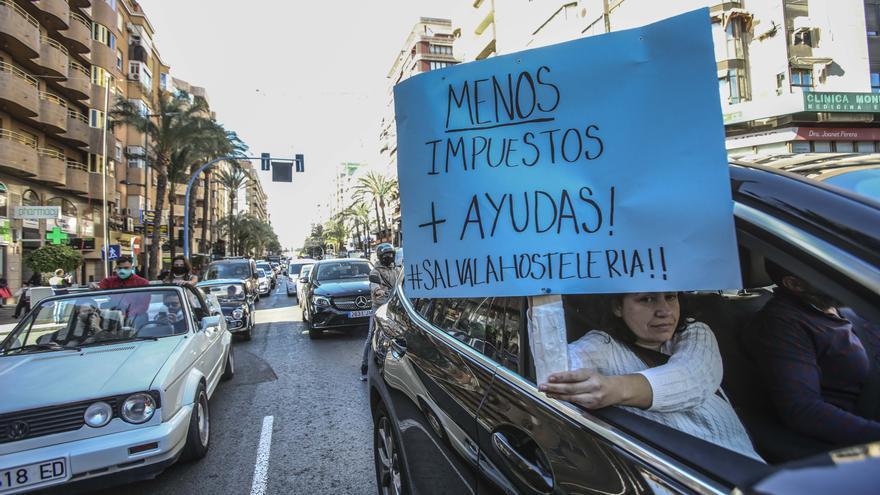 """Hosteleros alicantinos critican los préstamos anunciados por Puig para sectores afectados por el covid: """"Son una auténtica burla"""""""