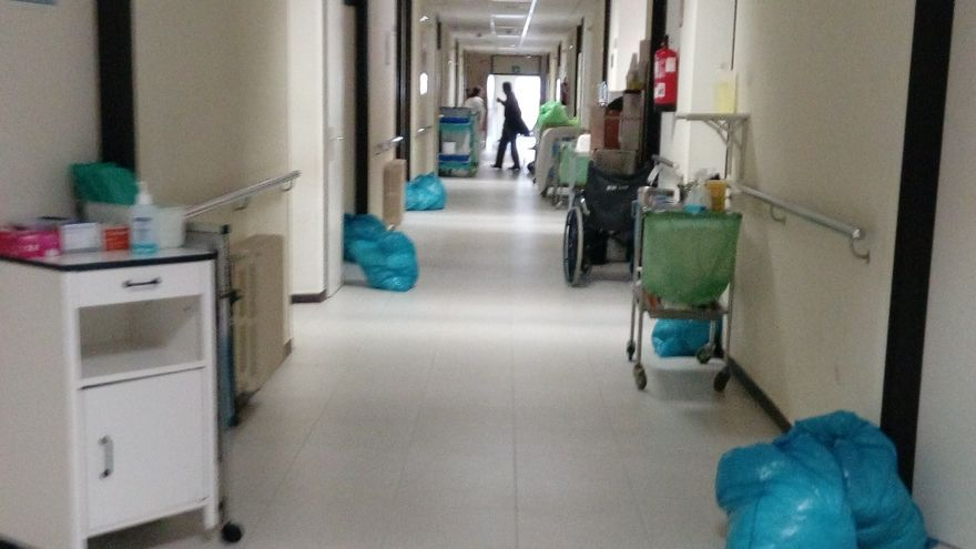 Reclaman el plus de peligrosidad para los trabajadores de limpieza del CHOP
