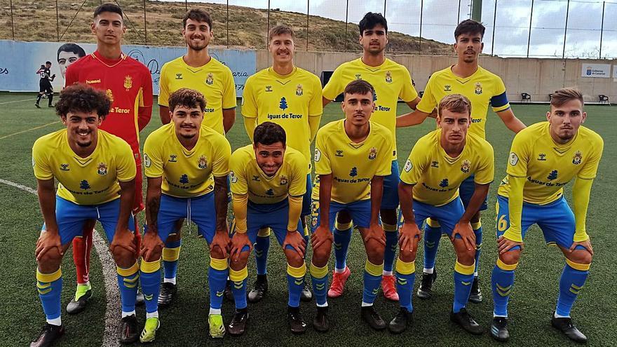 Las Palmas C  se desmelena  y bate al Villa