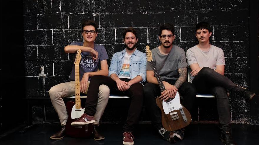 La banda cordobesa Same Fire presenta en el Teatro Góngora  'As Humans', su segundo disco