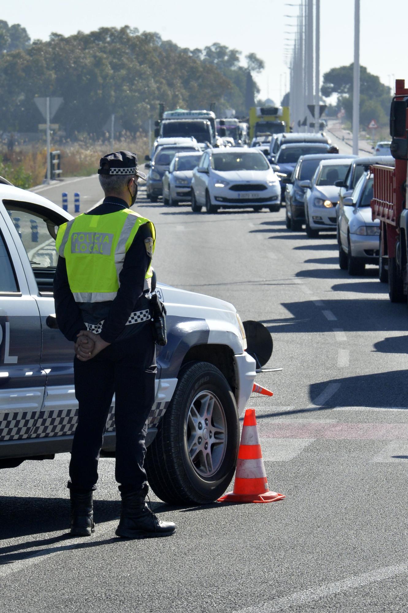 La Policía Local de Elche impone 75 sanciones por incumplir el cierre perimetral