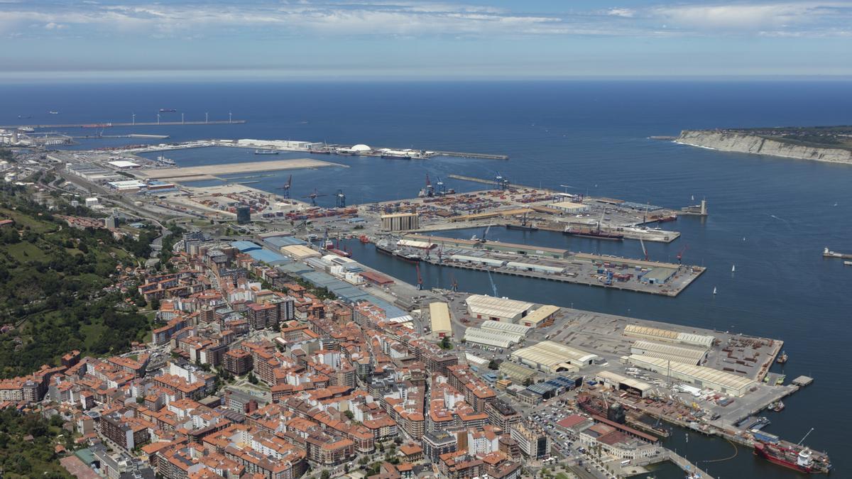 Una imagen del puerto de Bilbao.