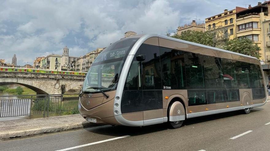 TEISA prova autobusos totalment elèctrics a Girona