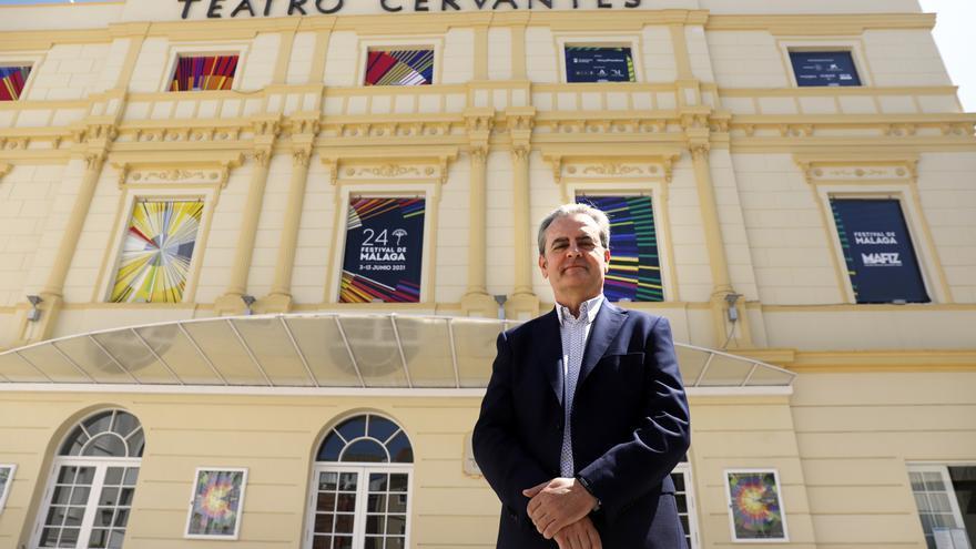 """Juan Antonio Vigar, director del Festival de Cine de Málaga: """"La cultura es el mejor camino para el desarrollo intelectual y emocional de las personas"""""""
