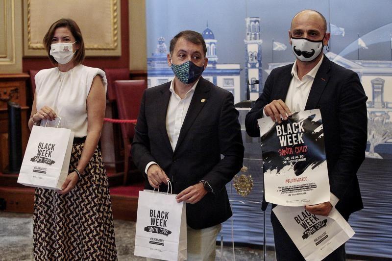 Presentación de la iniciativa comercial Black Week en Santa Cruz