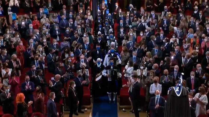 Así ha sonado el himno de Asturias en la ceremonia de los Premios Princesa de Asturias