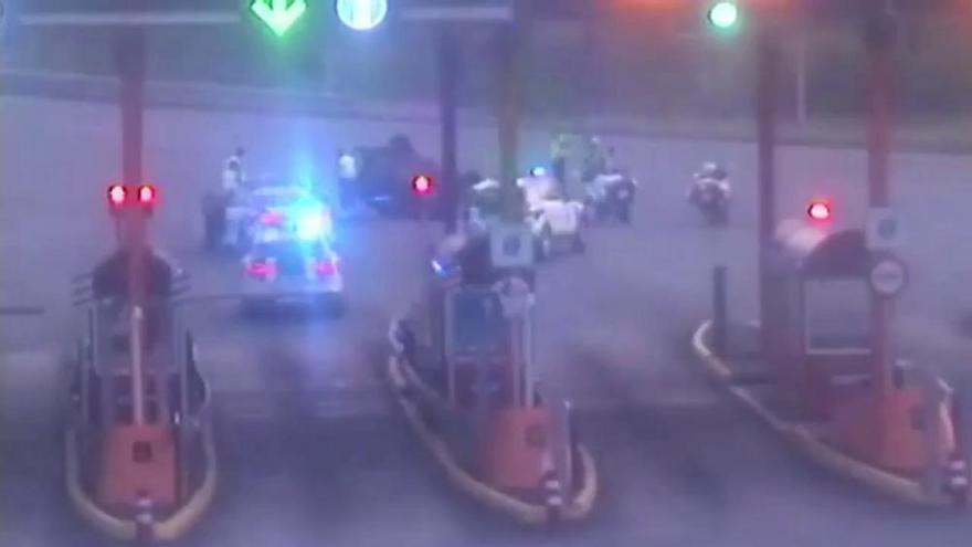 Tráfico en Galicia   Conductor temerario en Baiona