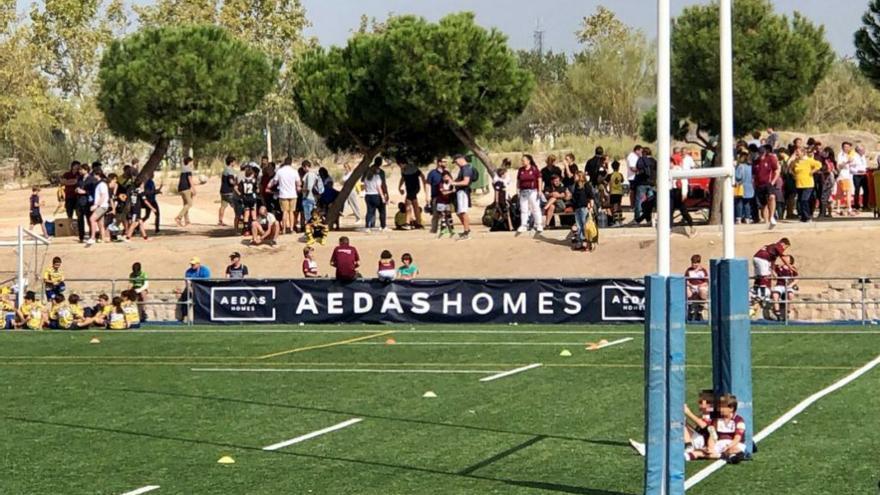 La promotora AEDAS Homes seguirá patrocinando al equipo de rugby