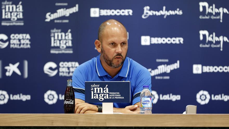"""José Alberto: """"Lo importante ahora son los tres puntos del partido del sábado"""""""
