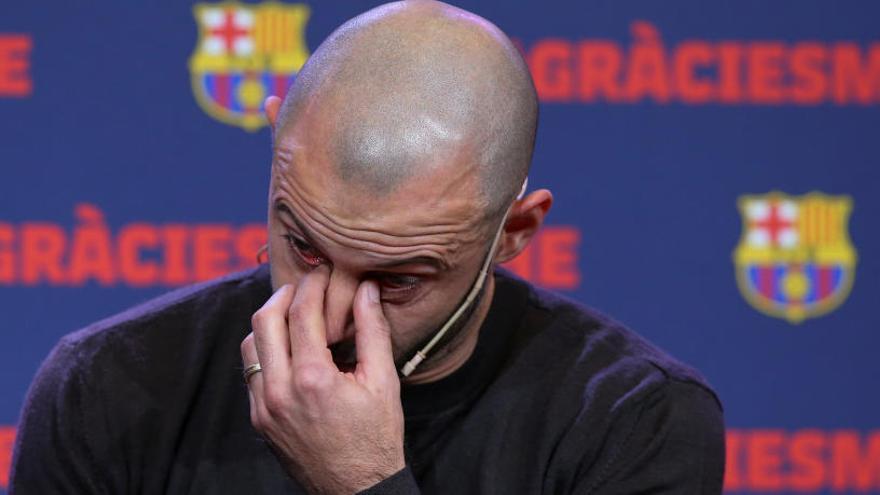 "Mascherano: ""Llegué al Barça para cumplir un sueño; es hora de despertar"""