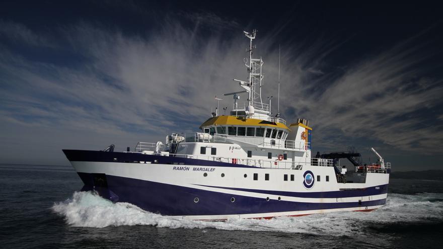 Un buque del Instituto Español de Oceanografía estudiará en La Palma la llegada al mar de la colada de lava